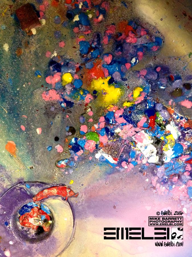 Colour River Flow