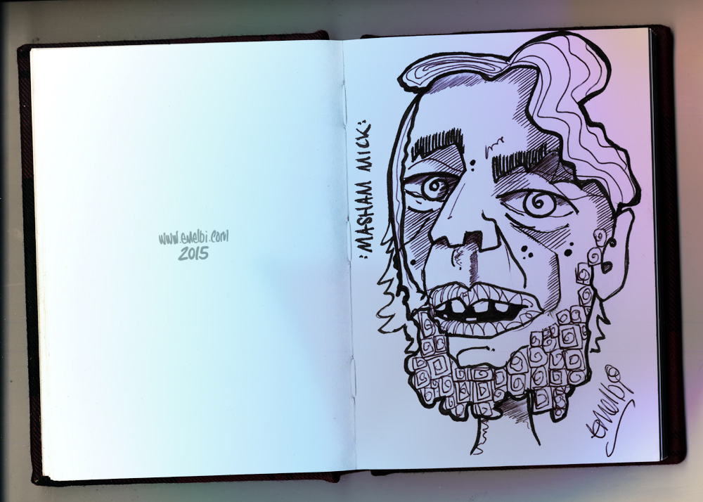 Masham Mick (Sketchbook)