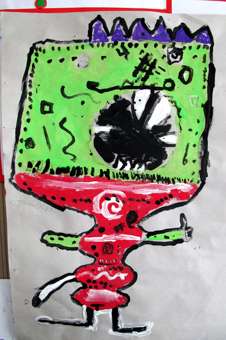 emelbi_art_education_illustration_workshops_gomersal_primary_school_year3_emelbi_inspired_characters_08