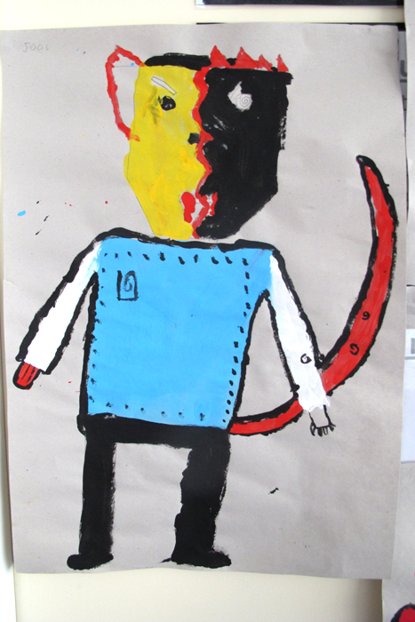 emelbi_art_education_illustration_workshops_gomersal_primary_school_year3_emelbi_inspired_characters_15