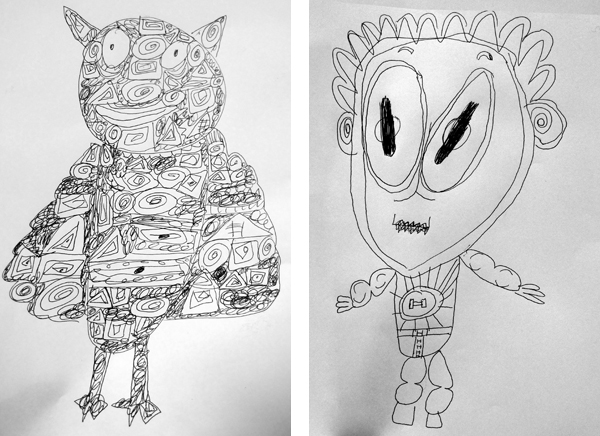 emelbi_art_education_illustration_workshops_whitechapel_c_of_e_primary_school_monsters_and_heroes_05
