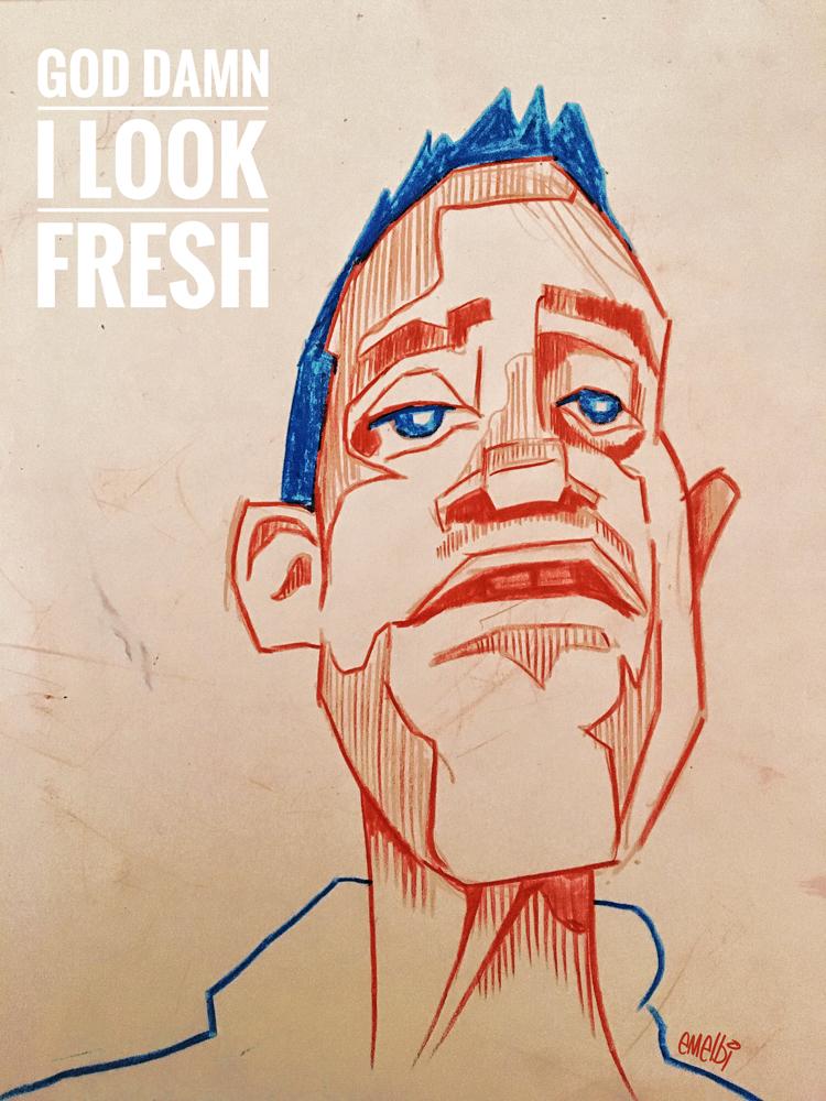 Beardyman - God Damn I Look Fresh